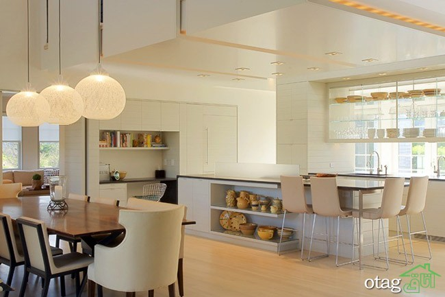 Kitchen Islands with Open Shelving (11)