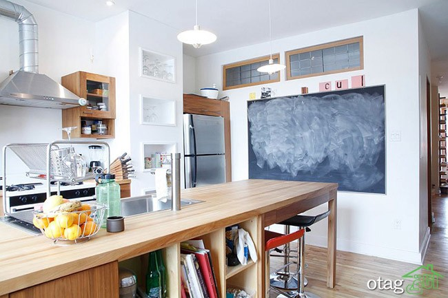 Kitchen Islands with Open Shelving (22)