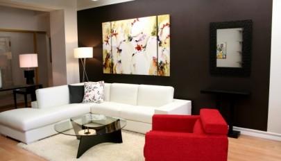 آشنایی با ایده های جدید رنگ اتاق نشیمن در سال جدید