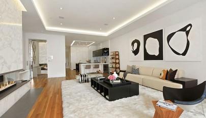 دکوراسیون داخلی خانه 250 متری با چیدمانی لوکس و بدیع