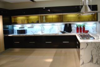 مدل کابینت ام دی اف آشپزخانه های مدرن / عکس کابینت mdf