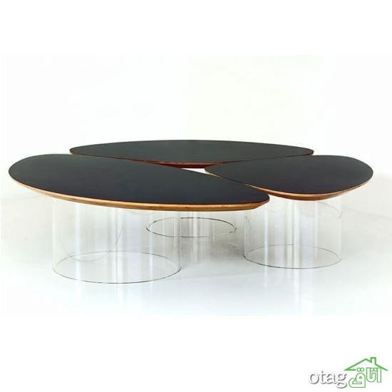 35 مدل میز جلو مبلی بسیار زیبا و بی نظیر [در سال جدید]