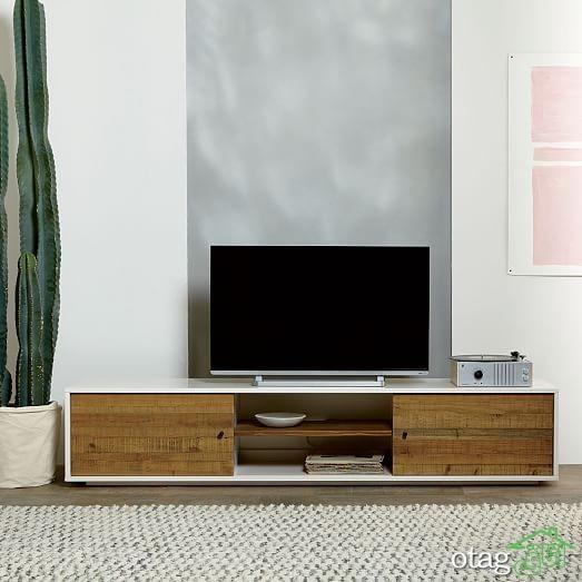 34 مدل میز تلویزیون زیبا و بی نظیر [درسال جدید] - قیمت ارزان