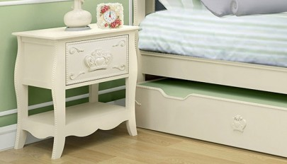 میز پاتختی شیک و مدرن مناسب اتاق خواب های مرتب و کارآمد