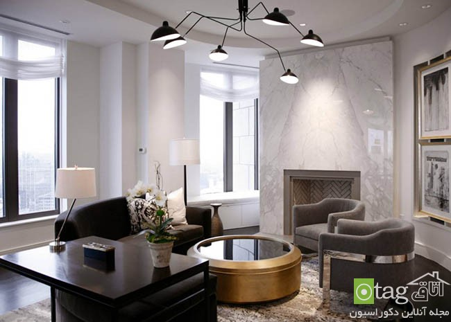 Marble-fireplace-in-a-chic-living-room (10)
