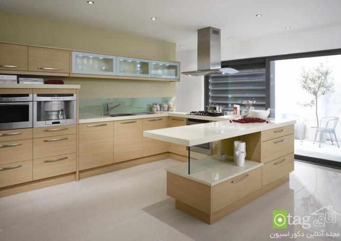 Minimalist-contemporary-wooden-kitchen-cabinets