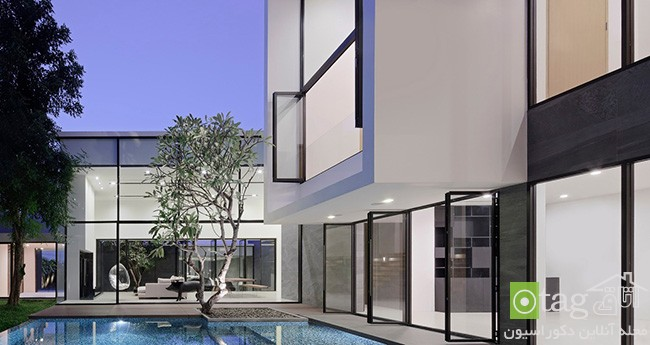 Modern-Home-Layouts-with-pool-in -courtyard (11)
