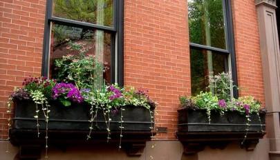 مدل جدید پنجره منزل مسکونی در نمای داخلی و خارجی شیک و زیبا