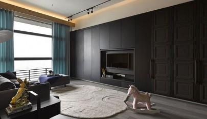 طراحی داخلی آپارتمان کوچک با بکارگیری ایده های مدرن و ساده
