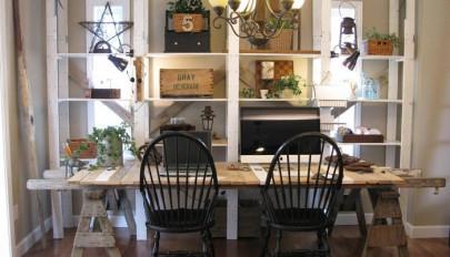 12 روش استفاده جدید از میز و صندلی های قدیمی در دکوراسیون مدرن