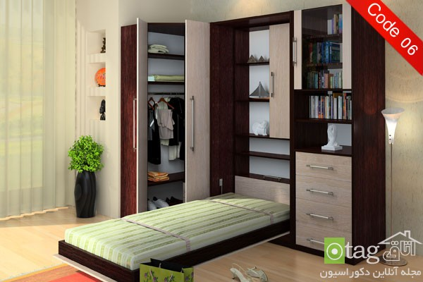 Small-Apartment-Bedroom-Design-with-Folding-Beds (3)