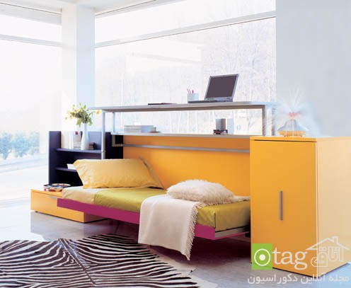 Small-Apartment-Bedroom-Design-with-Folding-Beds (5)