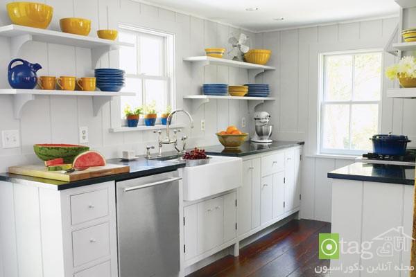 ۳۰ مدل طراحی دکوراسیون آشپزخانه بسیار کوچک و شیک
