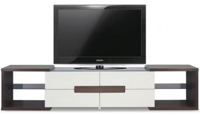 میز تلویزیون LCDمدرن در دکوراسیون نشیمن های شیک و زیبا