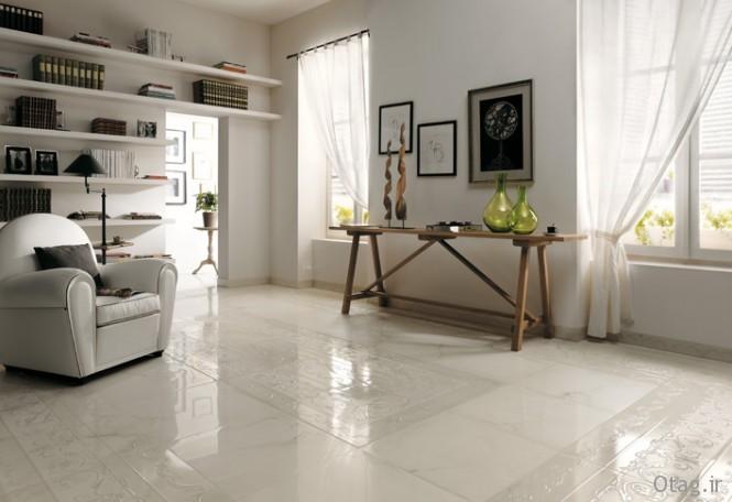 Textured-white-ceramic-tile-border-floor-665x456