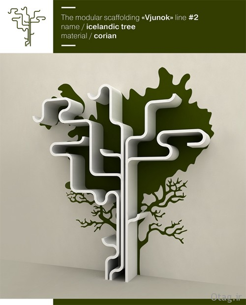 Tree-branch-bookshelf