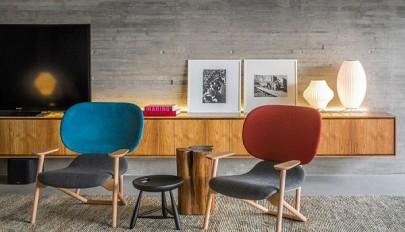 بررسی طراحی داخلی امروزی منزلی شیک با جوی گرم و دوست داشتنی