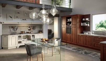 آشنایی با طرح های زیبای دکوراسیون مدرن و قدیمی در آشپزخانه