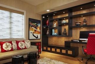 باکس دیواری - انواع مدل قفسه دیواری و شلف چوبی و طاقچه مدرن / عکس