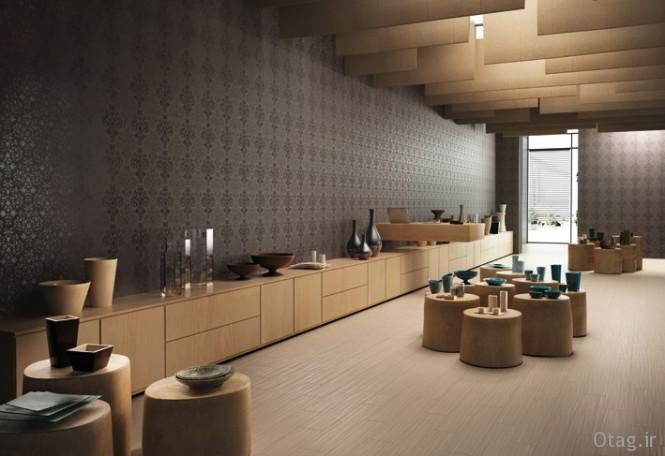 Wallpaper-effect-black-ceramic-wall-tiles-665x456