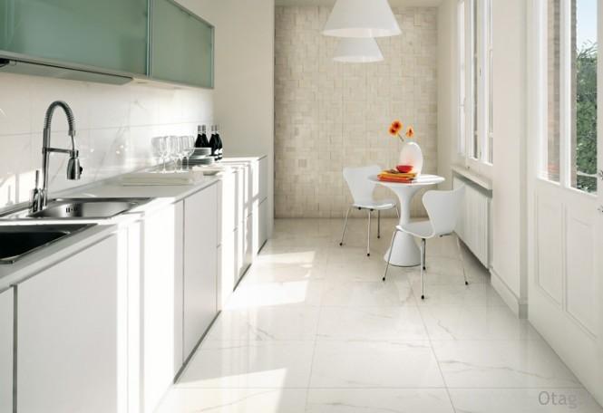 White-kitchen-ceramic-tile-textured-wall-665x456