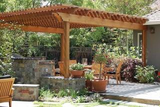 مدل های جدید آلاچیق باغ و حیاط / عکس و طراحی مدرن