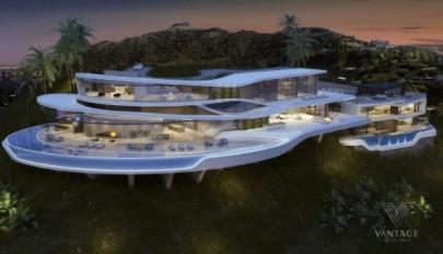 معرفی بهترین طرح های مفهومی از ساختمان های ویلایی فوق مدرن