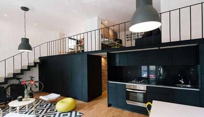بررسی دکوراسیون خانه آپارتمانی شیک با سبک طراحی امروزی