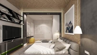 دکوراسیون اتاق خواب با طرح ها و بافت های متنوع و هنری