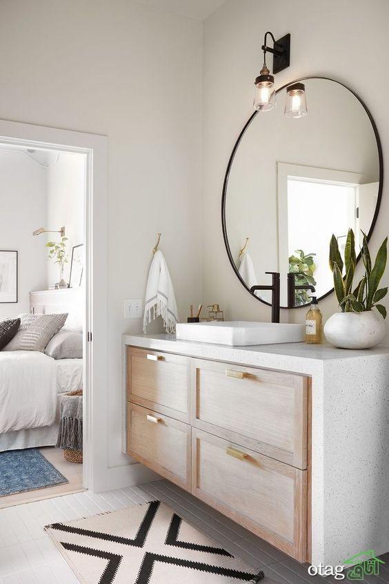 38 مدل آینه اتاق پذیرایی بسیار زیبا و مدرن سال 2020 ارزان