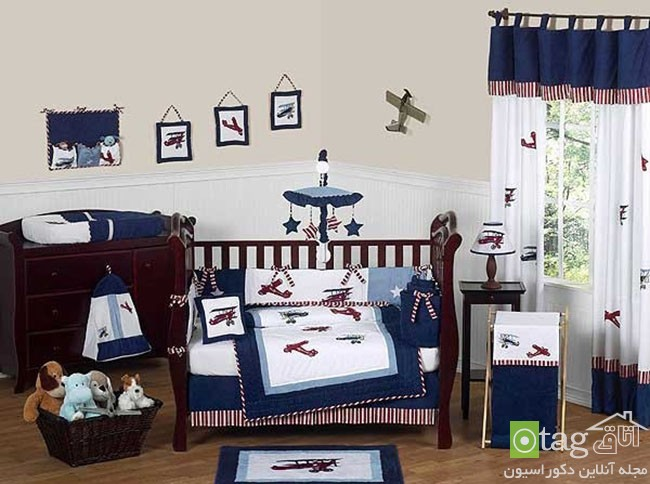 Aviator Crib Bedding Set Sweet Jojo Designs 9 Piece Blanket Outer Space Nursery Bedding Outer Space Nursery Bedding - Nursery Bedding Choice