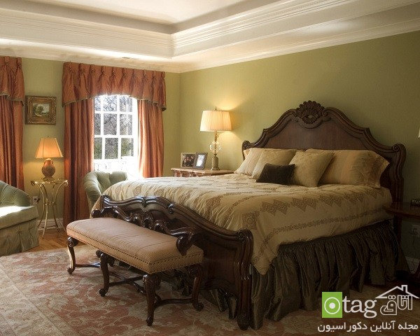 bedroom-designs-with-crown-molding-beds (10)