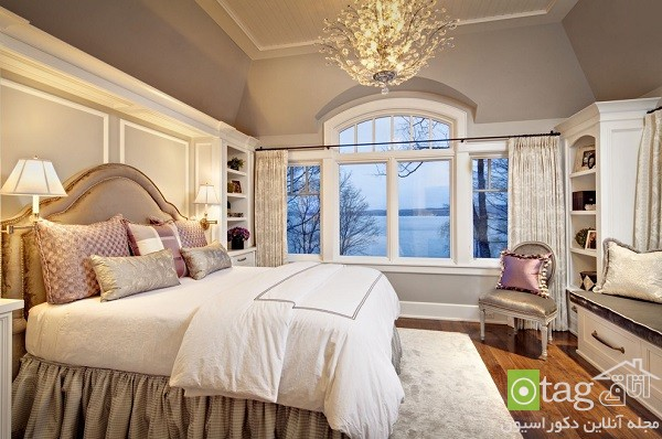 bedroom-designs-with-crown-molding-beds (7)