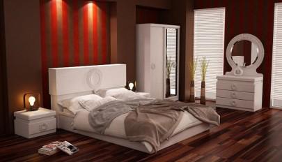 مدل سرویس خواب دونفره با طرح و شکل جدید و دیدنی / عکس