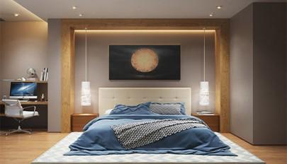 آشنایی با ایده های شگفت انگیز برای نورپردازی اتاق خواب