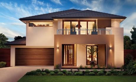 43 مدل نمای ساختمان دو طبقه [فوق العاده زیبا] در سازه های شهری و ویلایی