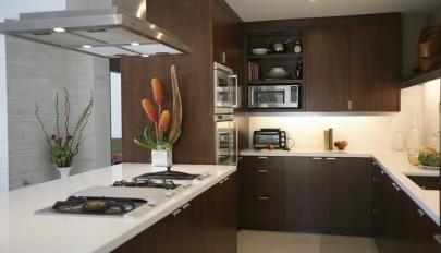 کابینت شیک در دکوراسیون آشپزخانه های شیک و امروزی / عکس 2016