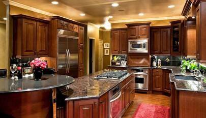 عکس کابینت آشپزخانه در مدل های جدید چوبی، گلاس و فلزی