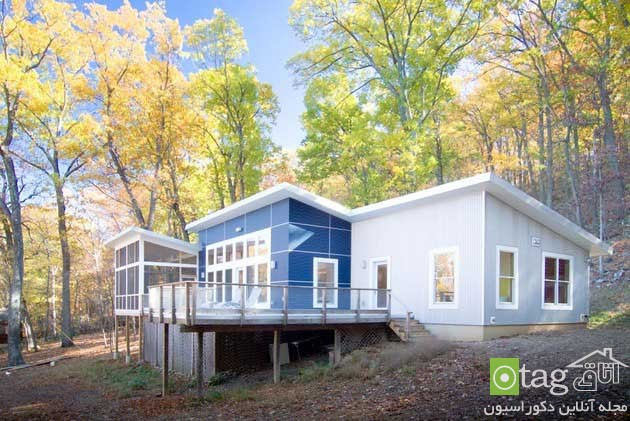 blue-white-contemporary-cabin-in-the-woods-designs (10)
