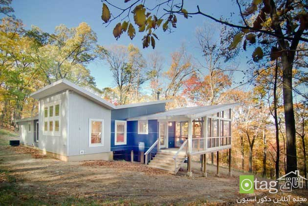 blue-white-contemporary-cabin-in-the-woods-designs (7)