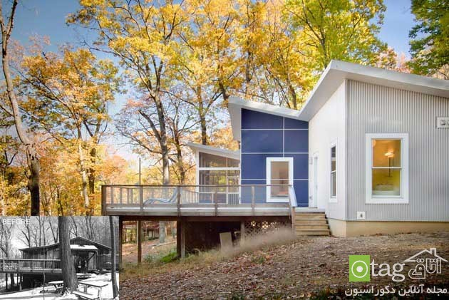 blue-white-contemporary-cabin-in-the-woods-designs (8)