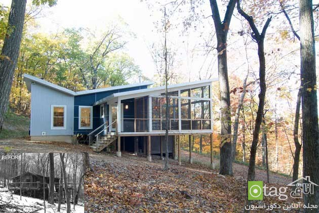 blue-white-contemporary-cabin-in-the-woods-designs (9)