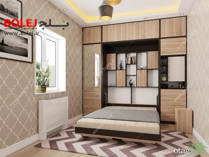10 مدل تخت خواب تاشو شیک و ارزان