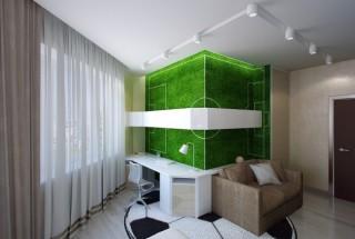 طراحی دکوراسیون اتاق خواب پسر بچه