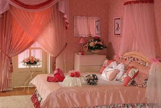 طراحی دکوراسیون و تزیین اتاق خواب عروس / دیزاین و عکس