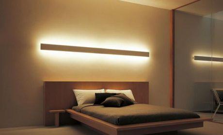 32 مدل چراغ خواب دیواری شیک و جدید در دکوراسیون اتاق خواب