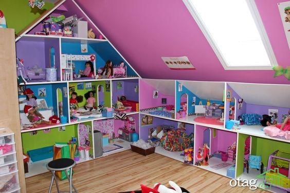 36 مدل چیدمان عروسک و اسباب بازی خلاقانه و بسیار زیبا در اتاق کودک