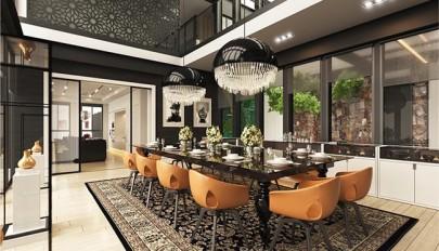 میز و صندلی ناهارخوری با ترکیب مدل های مدرن و کلاسیک