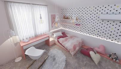 دکوراسیون خلاقانه اتاق کودک با طراحی جالب و سرگرم کننده
