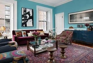 راهنمای انتخاب رنگ منزل برای بخش های مختلف خانه / عکس